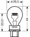 Лампа 3157 3157 P27/7W 12V (27/7W) W2,5x16q 3157